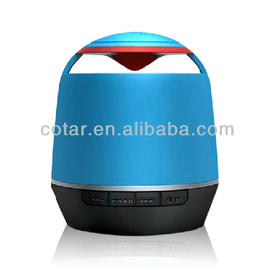 2013 Best Outdoor Wireless Bluetooth Speaker with USB and Led Flashlight Speaker