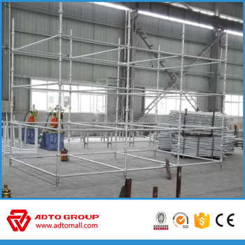 Hot Dip Galvanized Cuplock Scaffolding for Bridge
