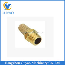 Factory Direct pneumatic fitting brass muffler