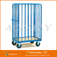 roll cage container shop store warehouse supermarket transportation cargo pallet trolley