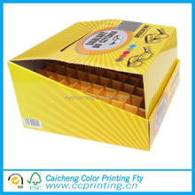 Custom cardboard perforated display paper box