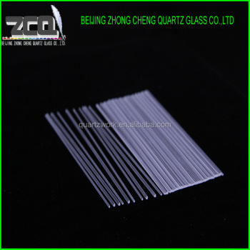 High Polishing Square Quartz Rods Borosilicate Rods Type
