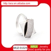 Alibaba China supplier 925 sterling silver jewelry fancy wedding ring