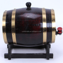 2016 cheap price mini wooden wine oak barrel