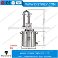 NEW 33L/9US GAL Stainless Alcohol Distiller with Moonshine with copper column and stainless steel Pot