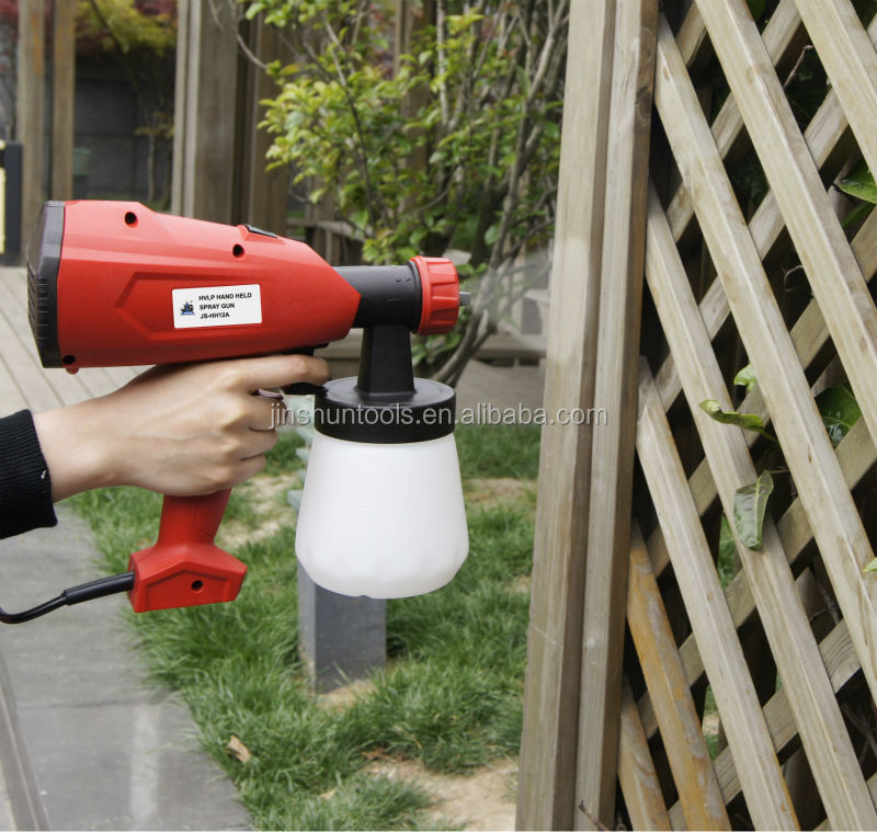 JS Hot Sale 350W Portable HVLP Hand Held Paint Sprayer Electric 220-240V, JS-HH12A