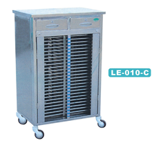 Stainless Steel Trolley For Medical Record Holder