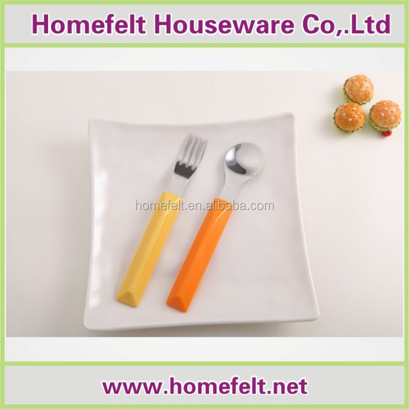 New Style baby spoon knife and fork set