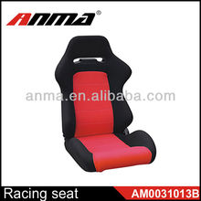 Black and red color game simulator seat racing