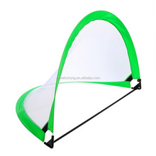 Pop up children training soccer goal foldable football door