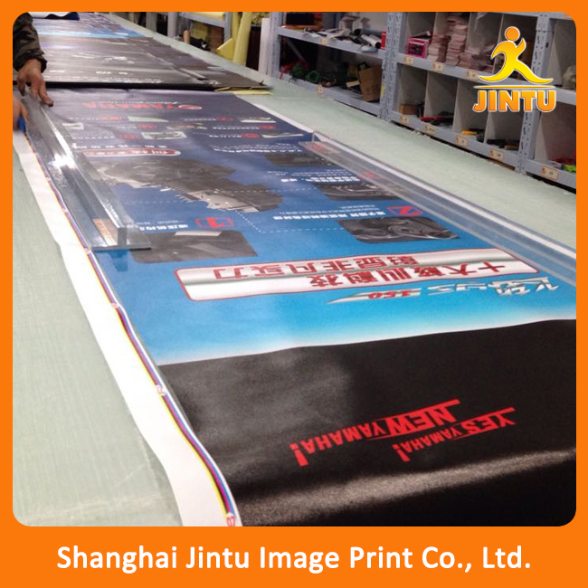Cheap 6 feet digital flex banner printing price, flex printing media for indoor and outdoor