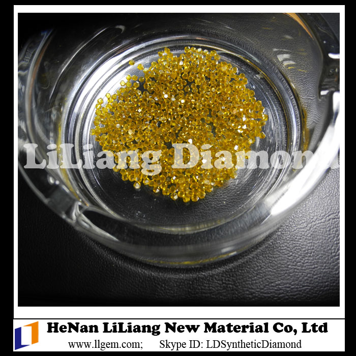 Large Single Crystal Monocrystalline HTHP Yellow Diamond Factory in China