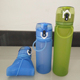 Eco-Friendly Folding Sports Silicone Collapsible Water Bottle