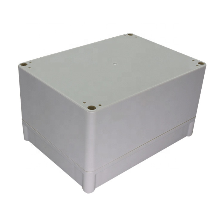 180*130*50mm Electronical ABS Plastic DIY Junction Box Enclosure Case Gray