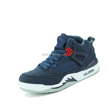 China factory air cushion man sport basketball sneaker shoes cool street basketball shoes