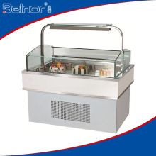 ZD840V Commercial Island Cake Display Refrigerator