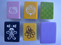 Crystal Mahjong Tiles with magnetic