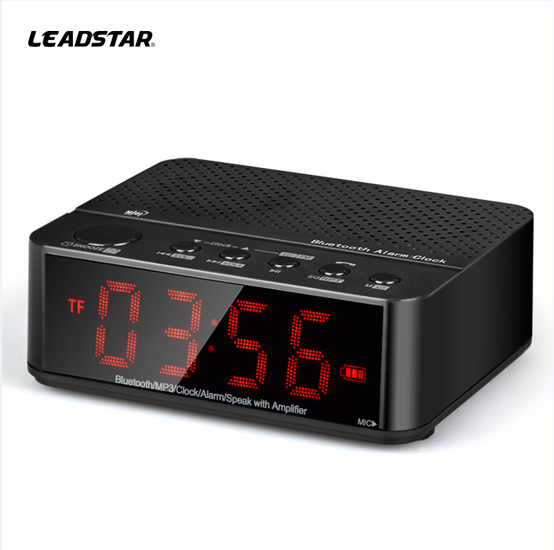 Intelligent led digital clock display Bluetooth alarm clock