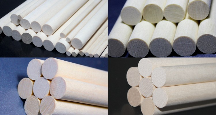 High quality China wholesale wood round birch dowel