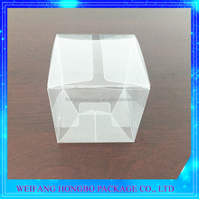 9x9x9cm clear PET cake box