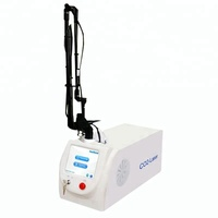 Latest USA metal rf 40W tube fractional co2 laser machine with vaginal tightening head