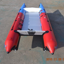 CE best-selling high quality inflatable catamaran boat manufacturer for Europe market
