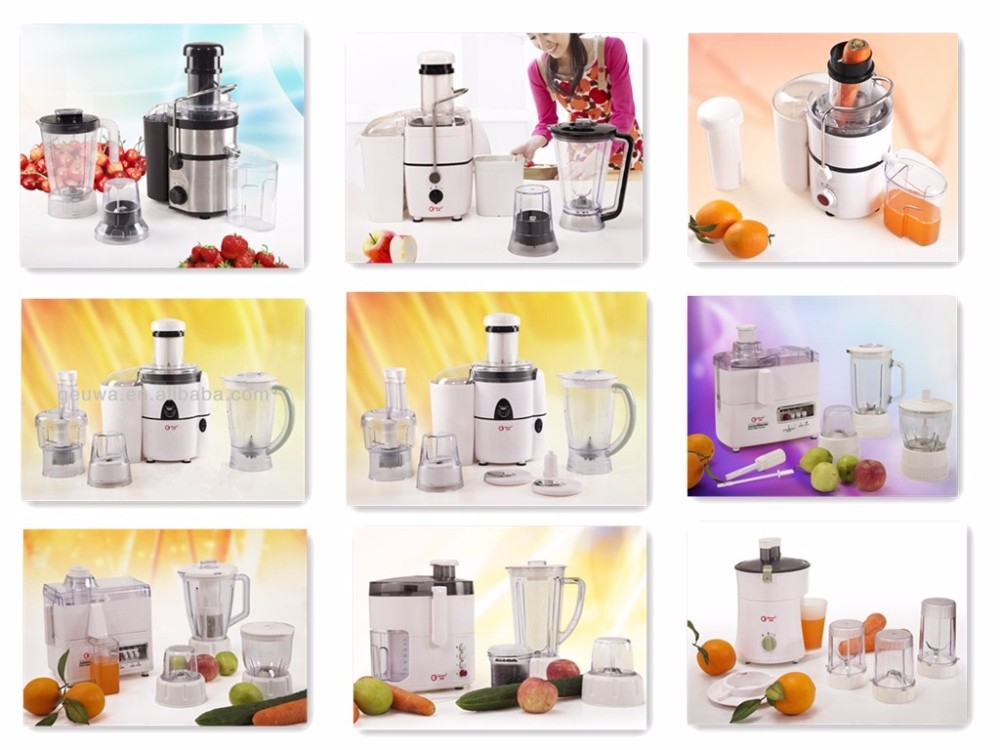 Hot selling manual type food processor juicer 3 in 1 with mill KD3308A