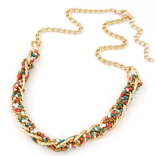 Bohemian Boho Statement Necklaces & Pendants for Women Collier Femme 2016 Fashion Vintage Beads Collares Mujer Ethnic Jewelry
