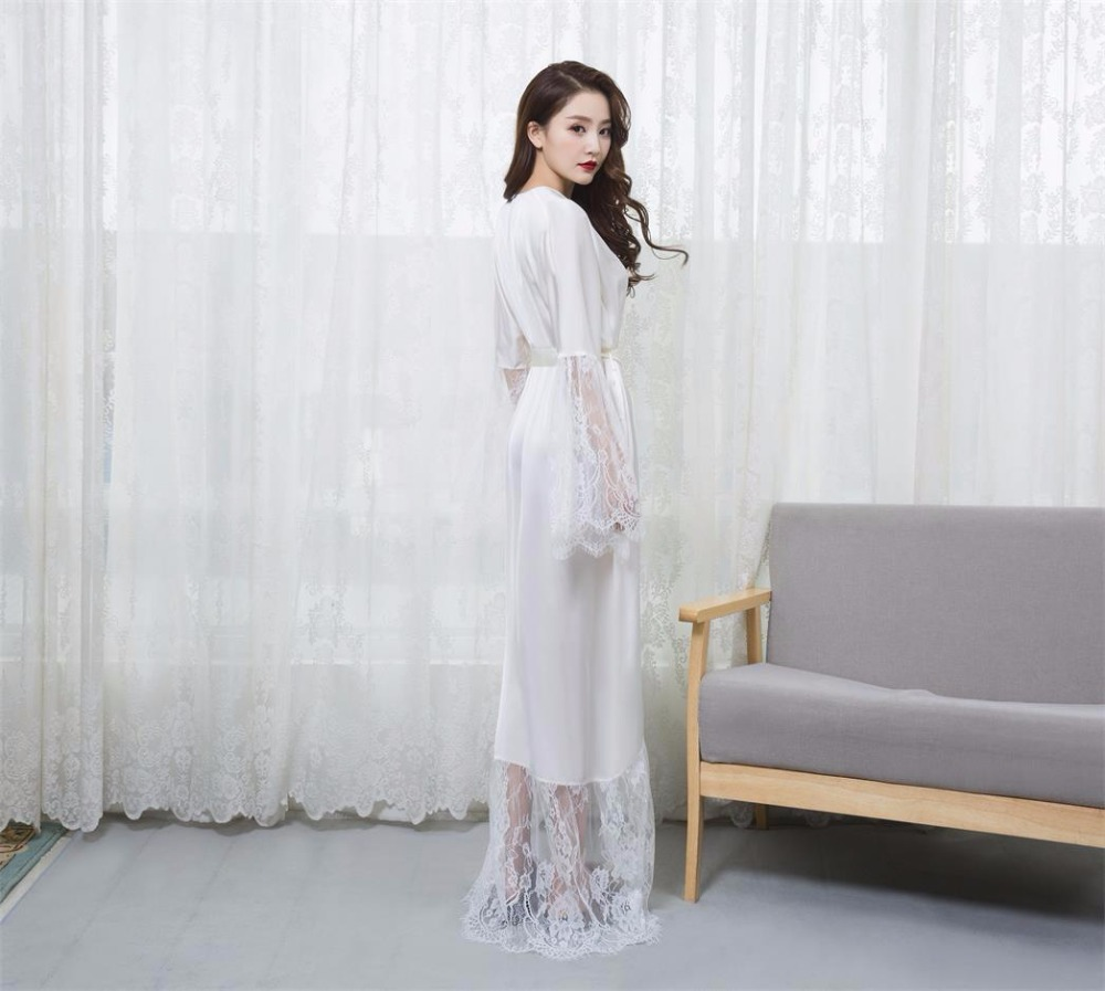 Factory Supplier Alibaba China Sex Satin Pretty Woman Nightgown