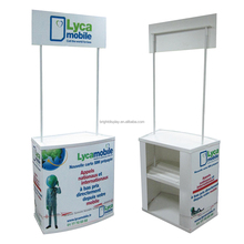 Portable Promotional Display Counter, Coffee Shop promotion table.