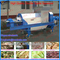 automatic fresh ginger squeezed machine /mango/grape/ginger fruit juice extractor/extracting