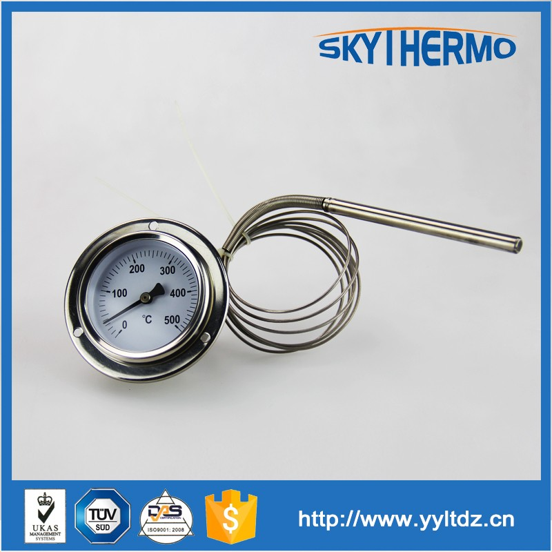 temperature instruments industrial pessure thermometer