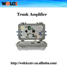 china factory sale Weatherproof BIdirectional Trunk Amplifier used for catv <strong>network</strong> coaxial