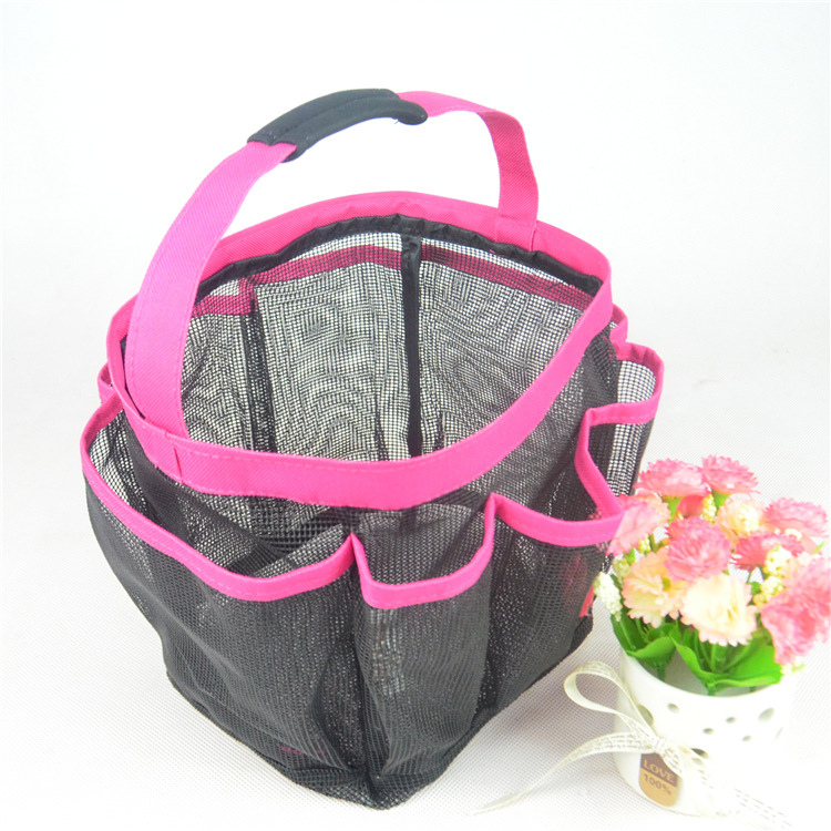 Hanging Toiletry and Bath Organizer Portable Shower bag Shower storage bag