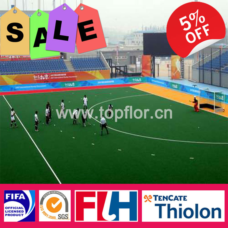 Good price evergreen artificial sports grass for hockey court