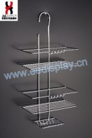 Metal Shelf Toilet Rack / Space Saver Bathroom Vanities