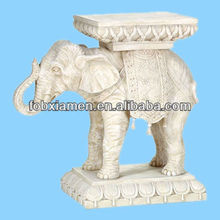 Wholeslae Ceramic Elephant Antique Movable Plant Stands