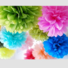 16inch 40cm tissue Paper Flower Wedding Wall Decoration