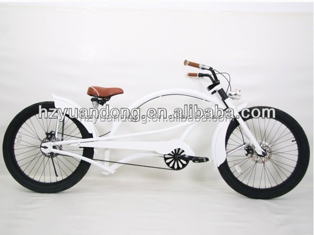 24'' Customized Cruiser 1 Herren Fahrrad Singlespeed Beach Cruiser Khaki Matt Men's Bike