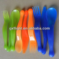 Reusable stirring gram plastic colored spoons