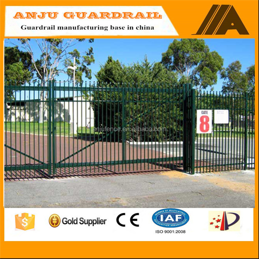 security fence-016 Eco-friendly,Trellis&gates type steel plate fence ,indoor fence