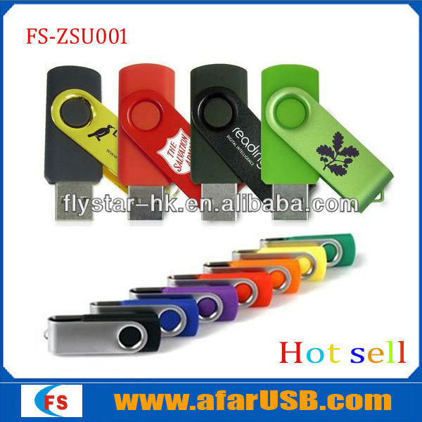 Cheapest swivel 4gb usb flash driver, top hot selling!!