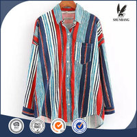 Blouse lady models loose casual women new patterns of image plus size cotton