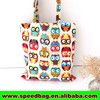Thai Cotton Owl Tote Women Ladies Bag Handbag Thailand canvas beach bag