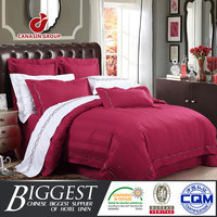 wine red linen sheets bedding sets