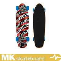 canada maple cruiser board , professional cruiser, 3 ply bamboo , 3 ply fiber , factory OEM