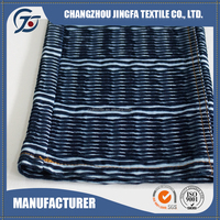 New Fashion China 100% cotton navy and white striped fabric