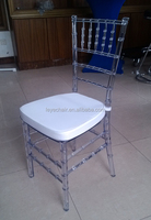 monobloc clear resin chiavari chair for wedding/party/banquet