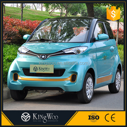 China Cheap 2 Doors New Electric Automobile Car With Air Condition