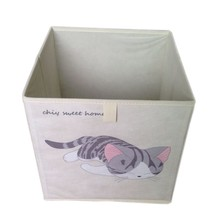 Sleeping cat storage box
